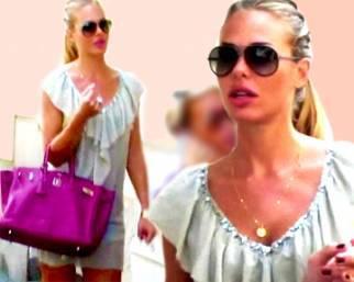 Ilary Blasi, shopping da Chanel