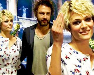 Laura Chiatti, con Lamma è red!