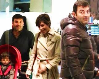 Max Giusti, shopping con Benedetta e Matteo
