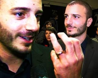 Nicolas Vaporidis: 'Felice con la fede al dito'