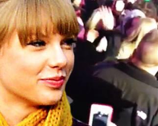 Taylor Swift ed Harry Styles: il bacio