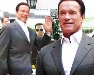 Arnold Schwarzenegger a Roma per 'The Last Stand'