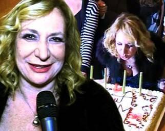 Compleanno Monica Scattini