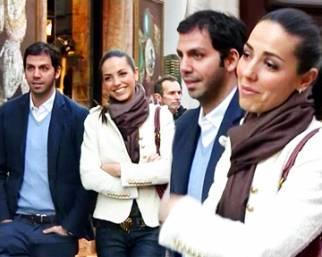 Laura Barriales, a Roma al suo fianco c'è sempre lui