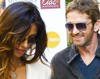 Gerard Butler e Madalina Ghenea, to Rome with love