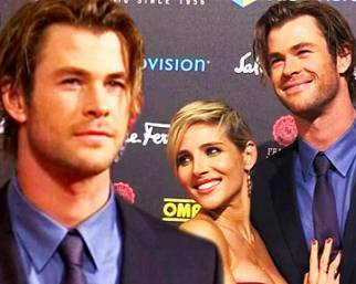 Chris Hemsworth con Elsa Pataki per 'Rush'