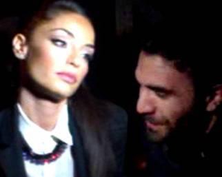 Raffaella Fico, prima uscita mondana con Gianluca Tozzi