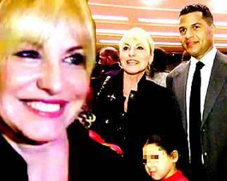 Antonella Clerici a teatro con Eddy e Maelle