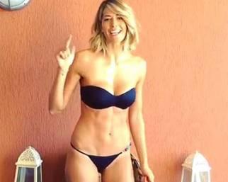 Elena Santarelli: Ice Bucket Challenge