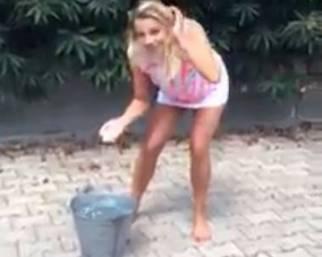 Emma Marrone: Ice Bucket Challenge