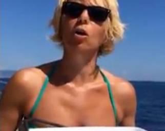Maria De Filippi: Ice Bucket Challenge
