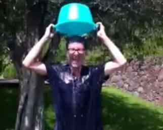 Fabio Fazio: Ice Bucket Challenge