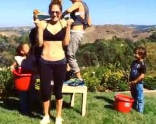 Jennifer Lopez: Ice Bucket Challenge