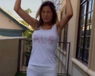 Aida Yespica: Ice Bucket Challenge