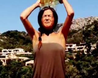Giorgia Palmas: Ice Bucket Challenge