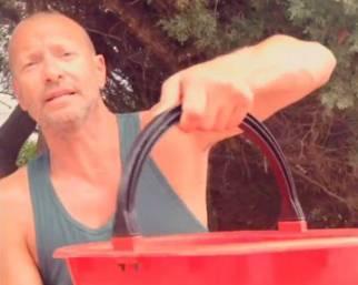 Biagio Antonacci: Ice Bucket Challenge