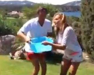 Simona Ventura: Ice Bucket Challenge