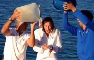 Federica Pellegrini: Ice Bucket Challenge