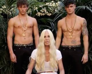 Donatella Versace: Ice Bucket Challenge