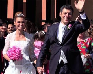 Fabrizio Frizzi e Carlotta Mantovan: il video delle nozze