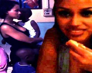 Fanny Neguesha, prima in Africa con gli orfani...