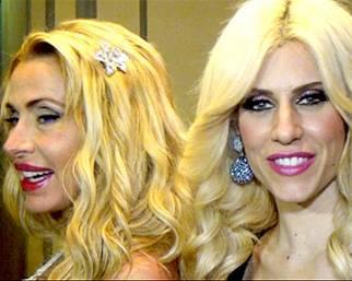Valeria Marini e Paola Caruso: vera amicizia?