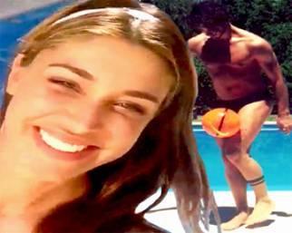 Belen e Stefano, passione fitness anche in Argentina