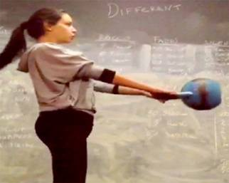 Michela Quattrociocche, in forma super grazie al CrossFit