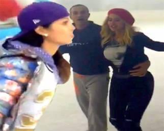 Mariana Rodriguez sui pattini per 'Notti sul ghiaccio' 2015?