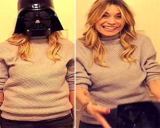 Elenoire Casalegno, Darth Vader per gioco
