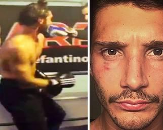 Stefano De Martino, un occhio livido per la boxe