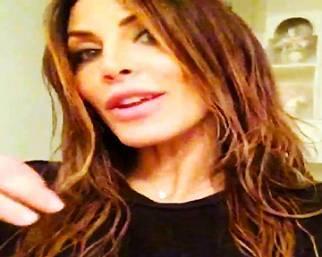 Guendalina Tavassi, parrucchiera 'fai da te'