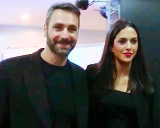Raoul Bova e Rocio Munoz Morales innamorati a Roma