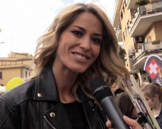 Elena Santarelli: 'Ho fatto pace con la tata'