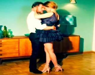 Filippa Lagerback, un dolcissimo ballo con Daniele