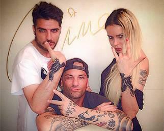 Nina Moric e Luigi Mario Favoloso: tattoo addicted