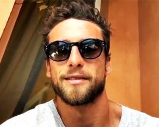 Claudio Marchisio, un saluto in relax
