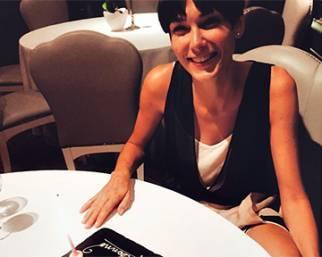 Katarina Raniakova, compleanno con sorpresona da Alex Belli