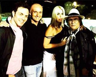 Alfonso Signorini e Loredana Lecciso, balli a casa Carrisi