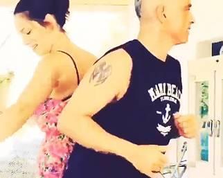 Marica Pellegrinelli, ballando con il suo Eros...
