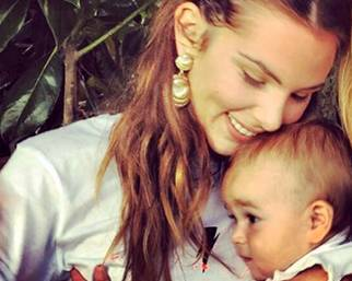 Micol Olivieri, Arya a 10 mesi già 'twerka'