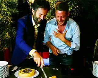 Lapo Elkann e Carlo Cracco, un compleanno speciale