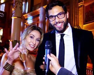Brice Martinet ed Elena Falbo al Gran Ballo