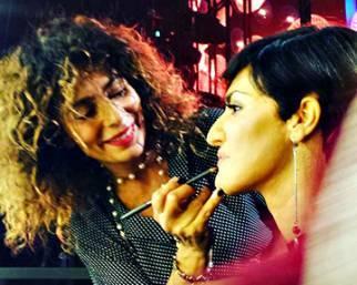 Bianca Guaccero a 'Tale e Quale Show' al trucco si confessa...