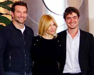 Bradley Cooper, Sienna Miller e Riccardo Scamarcio presentano 'Il sapore del successo'
