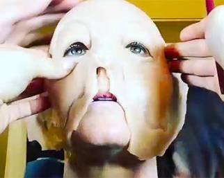 Ecco come Heidi Klum si è trasformata in Jessica Rabbit