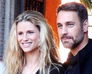 Michelle Hunziker e Raoul Bova a Roma per Doppia Difesa