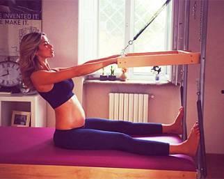 Elena Santarelli, oltre al gyrotonic anche il pilates