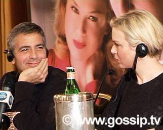 Clooney e Zellweger, stelle d'amore