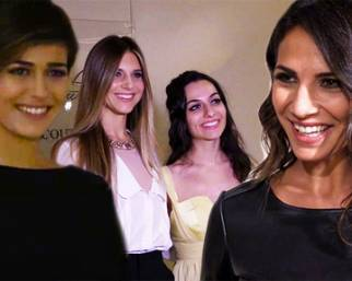 Alice Sabatini, Nicoletta Romanoff e le altre alla sfilata di Martina Grisolia